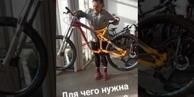 서스펜션에 따른 자전...
